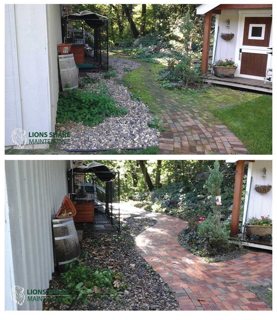 paver and concrete cleaning services in St. Paul and Minneapolis Minnesota